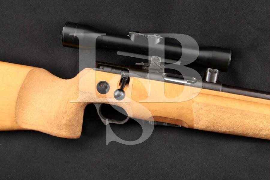 """East German SSG 82 SSG82 Scharfschützengewehr Sharpshooter's 5.45x39mm Rifle, Blue 23.5"""" Bolt Action Rifle & Zeiss Scope, MFD Ca. 1982"""