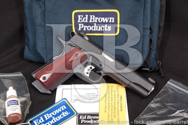 Ed Brown Special Forces .45 Model SF3-BB-CAL2 1911
