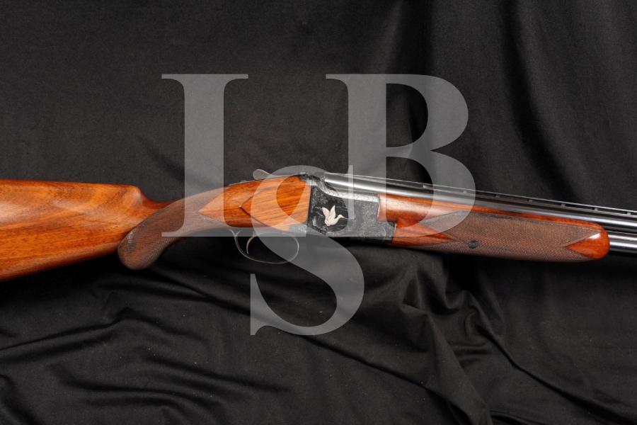 Engraved Belgium Browning Superposed 12 Ga. Gauge Over  / Under O/U Shotgun IM/F - 1952 C&R