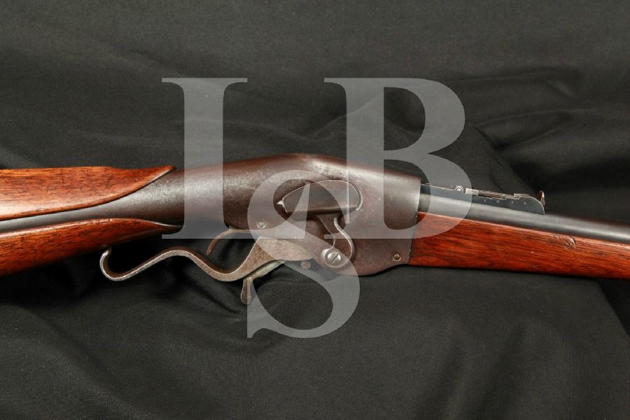 "Evans New Model Carbine Lever Action Rifle 22"" MFD 1877-1879 Antique"