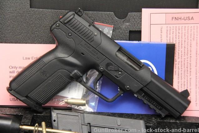FN Fabrique National Five-Seven / IOM 5.7x28mm Semi Auto Pistol – In The Box