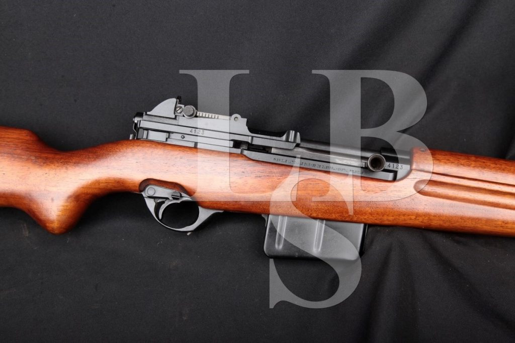 "Fabrique National Model 1949 (Venezuelan Fn49) Non-Import, Black 24 ½"" Military Semi Auto Rifle MFD 1949-1961 C&R 7mm Mauser (7x57mm)"