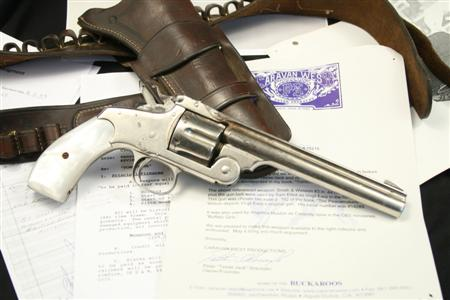 Sam Elliot / Virgil Earp's S&W Model No. 3 Russian First Model From The Movie 'Tombstone'