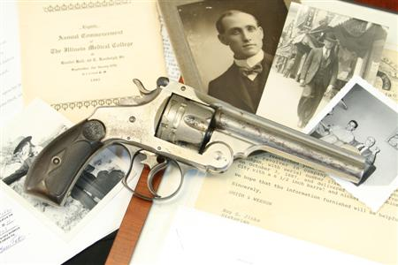 Emmett Dalton's Smith & Wesson S&W Double Action First Model .44 Russian