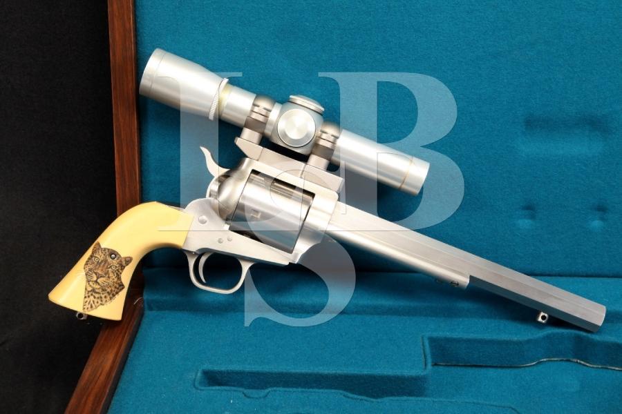Freedom Arms .454 Casull SCI -- Safari Club International XIX Revolver & Leupold