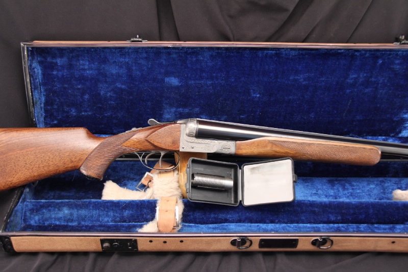 G. Defourny Sevrin 10 Ga. SxS -- Continental Arms Corp Belgian Side by Side Shotgun