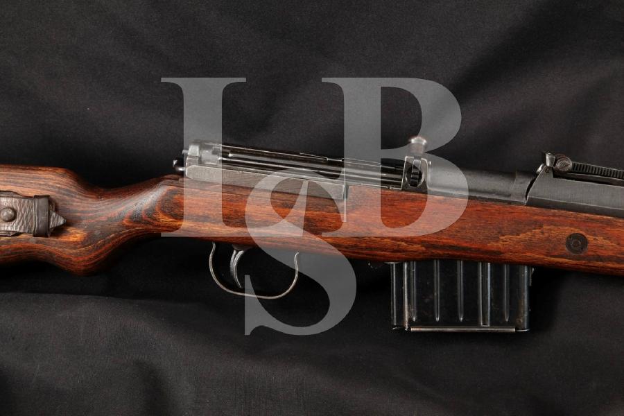 "German Nazi SS Gustloff Werke Gewehr 43 G43 K43 & Sling, Non-Import, Blue 21 ¾"" Rare WWII, Semi Automatic Rifle MFD 1944 C&R"