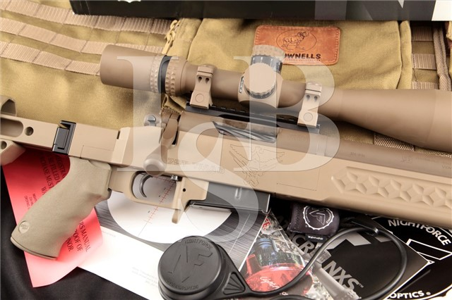 Griswold Brothers GB Tactical 308 R7ST TMAG Bolt Action Rifle, FDE Folding Stock & Nightforce