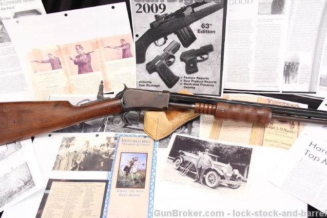 A. H. Hardy's Winchester Model 1890 Exhibition Rifle .22 LR, One of The Last 1890's – 1941 C&R Ok