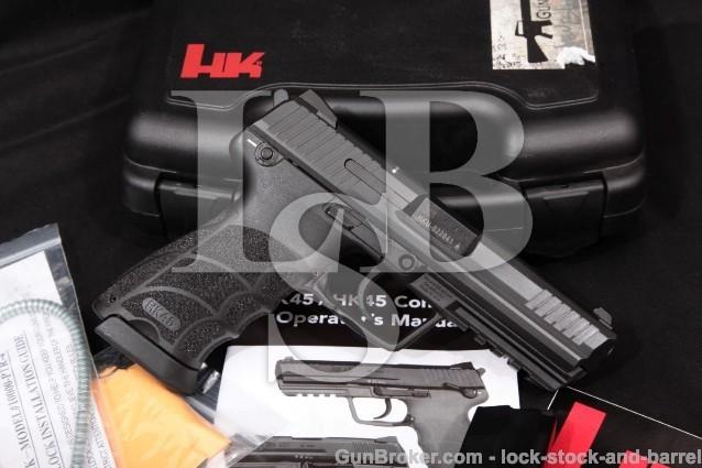 Heckler & Koch H&K HK Model HK45 HK-45, .45 ACP 4 1/2″ SA/DA Semi-Auto Pistol & Case, MFD 2012