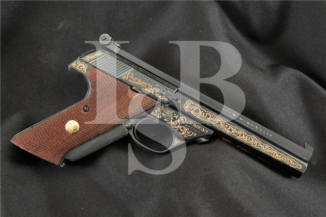 High Standard Giles Custom 102 Supermatic Trophy Col. Bill Swanwick Semi-Automatic Pistol, 1958 C&R
