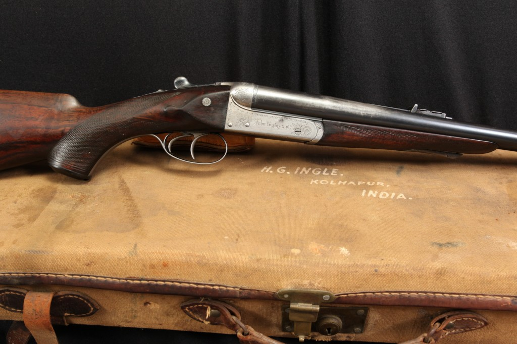 J. McKeand, John Rigby & Co. .470 Nitro Express Class C Double Rifle Now At Lock Stock and Barrel