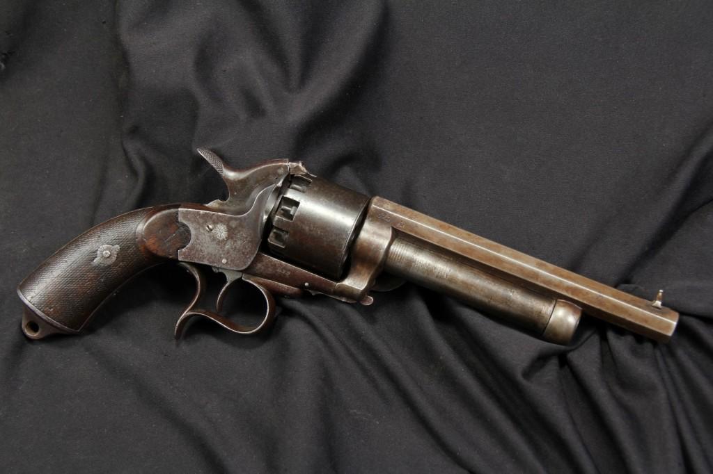 "Original Transitional Model Civil War LeMat ""Grapeshot"" Revolver"