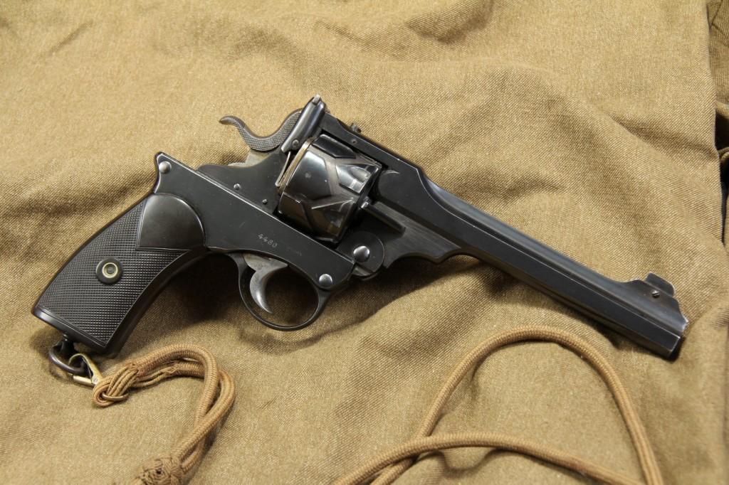 .455 Webley Fosbery Semi Automatic Revolver