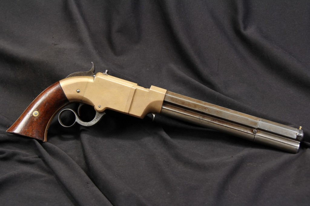 """8"""" New Haven Arms .41 Caliber Volcanic Lever Action Pistol"""