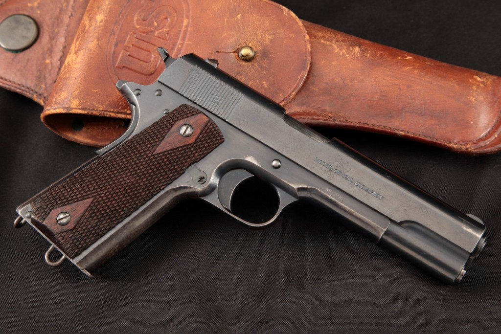SHARP 1912 Manufactured US Army Colt Model 1911, Gold Inlaid & Inscribed to Capt. W. H. Beal