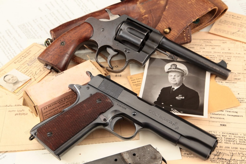 USN Captain H.H. Greer's Colt Government Model 1911A1, 1937 Shipped to USS Lamson, Fully Documented & Original Receipt