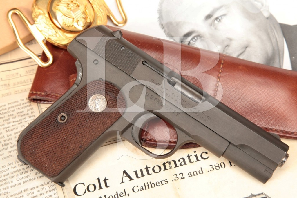 U.S. Property Colt Model 1903 .32 ACP, Sold to USAF Lt. Colonel Charles A. Glover