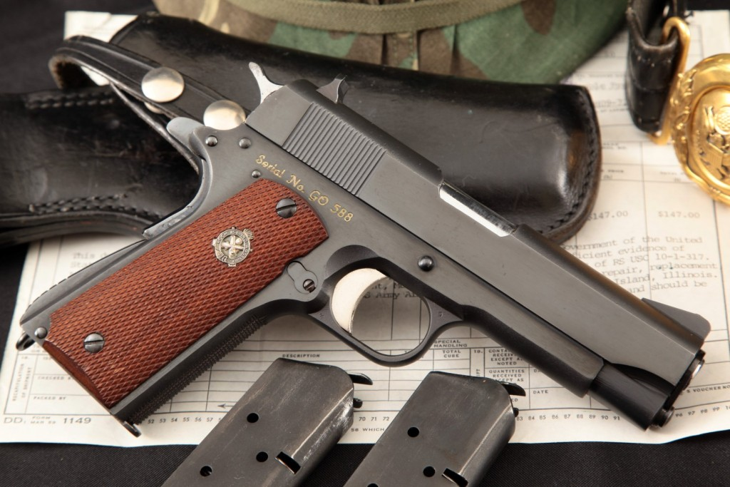 Rock Island Arsenal Model M15 General Officer's Pistol Issued to General Phillips N. Gordon