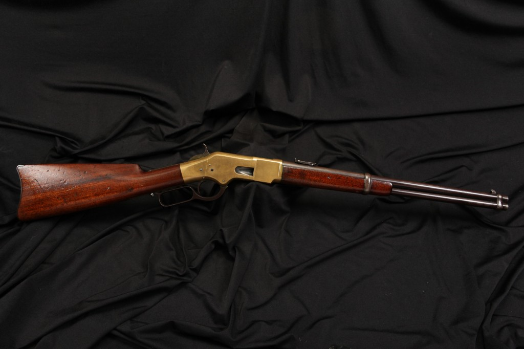 Winchester Model 1866 .44-40 WCF Saddle Ring Carbine Lever Action Rifle