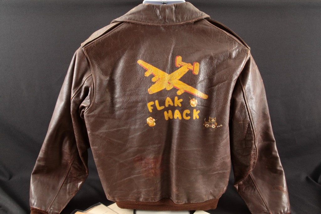 Clarence Mace – Flak Hack, B-17 Gunner 733rd Bomb Squadron Painted A2