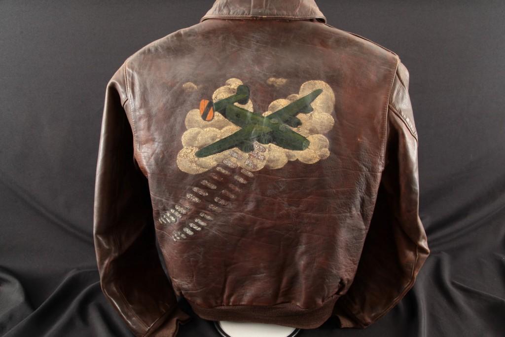 Elden Farrar – Wast Gunner B24 714th Bomb Squadron, Painted A2