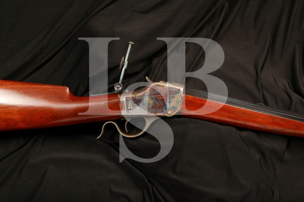 Mint Antique Winchester Model 1885 High Wall .38-55 WCF Falling Block Rifle