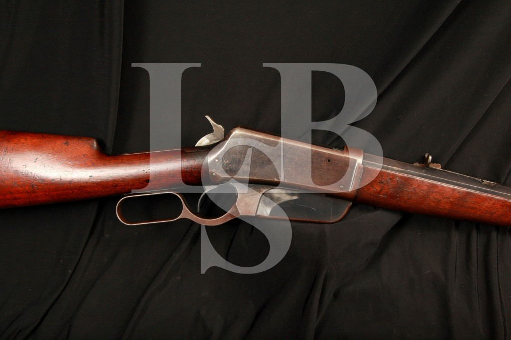 Sharp Winchester Model 1895 Flat Side Lever Action Rifle – .32-40 WCF