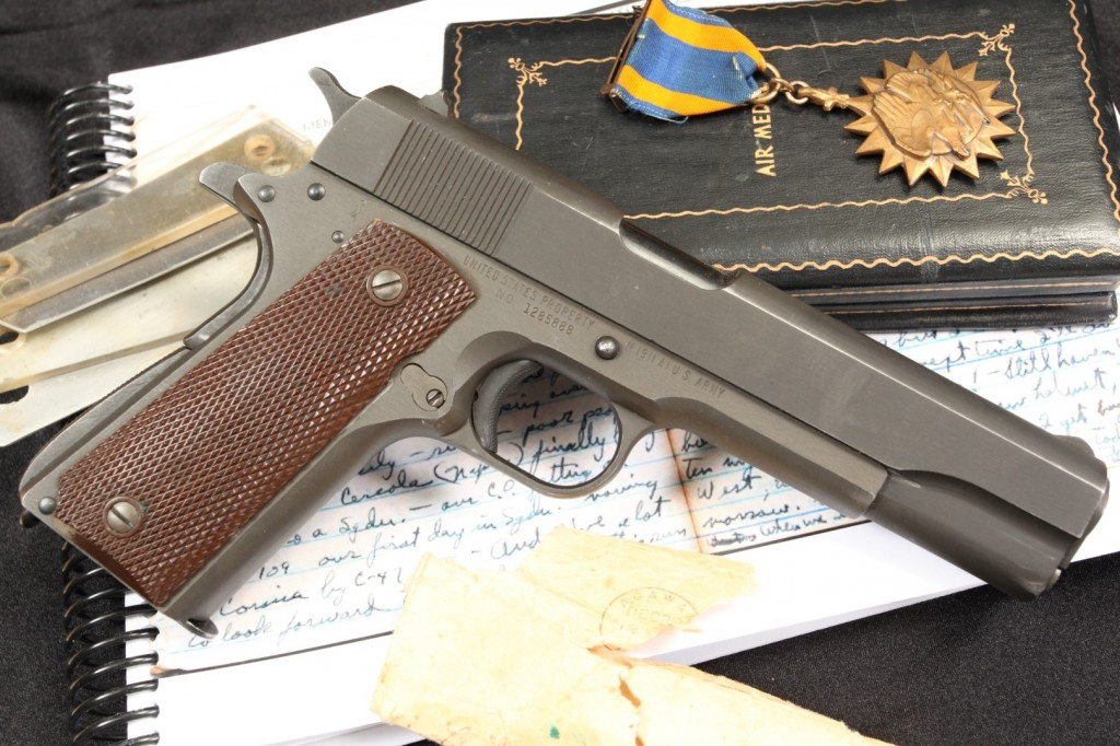 Col. Lucardi's (57th Fighter Group) Remington Rand Model 1911-A1