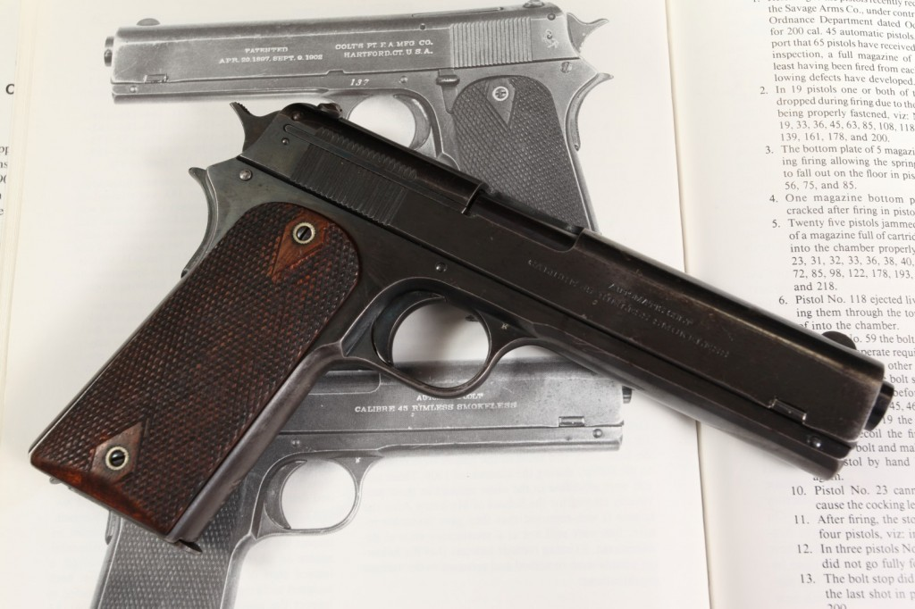 Colt Model 1907 .45 ACP (Factory Refinished) Pictured in Charles Clawson Book