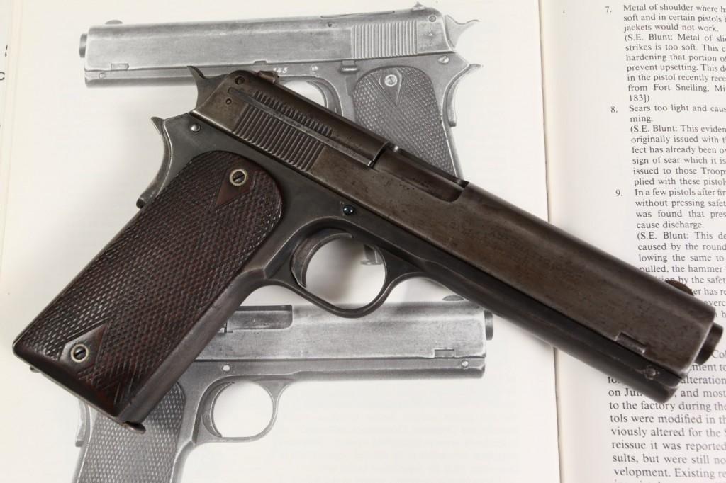 Colt Model 1907 .45 ACP (Trials Test Gun) Pictured in Charles Clawson Book