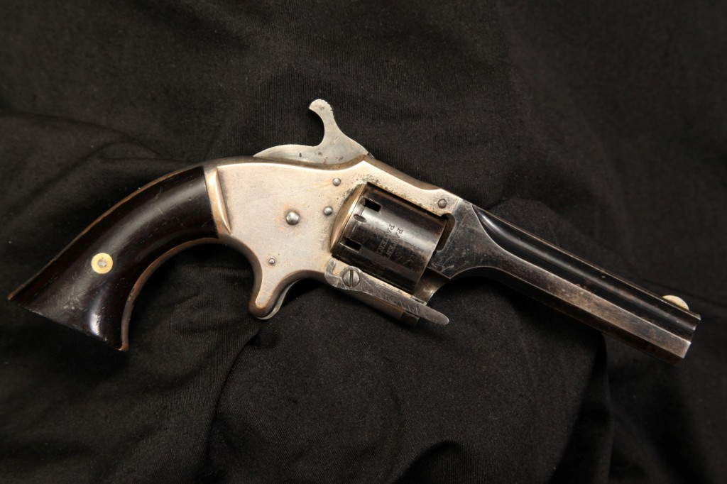 Rare Connecticut Arms .28 Cup-Primer Cartridge Front Loading Single Action Revolver – Antique