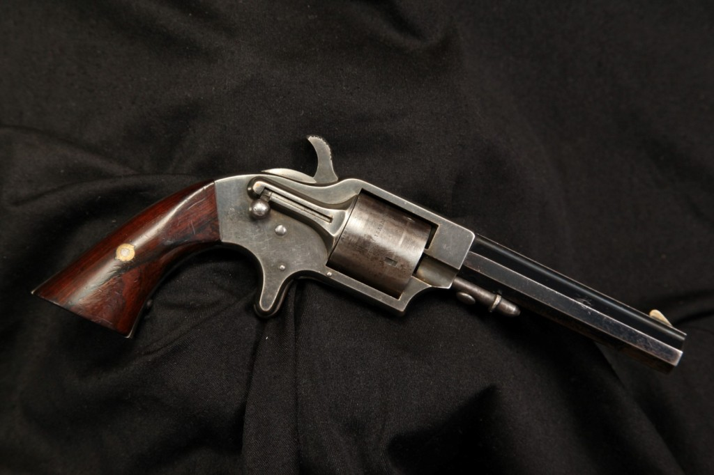 Plant / Merwin & Bray Front Loading .30 Caliber Cup-Primer Cartridge Single Action Revolver – Antique