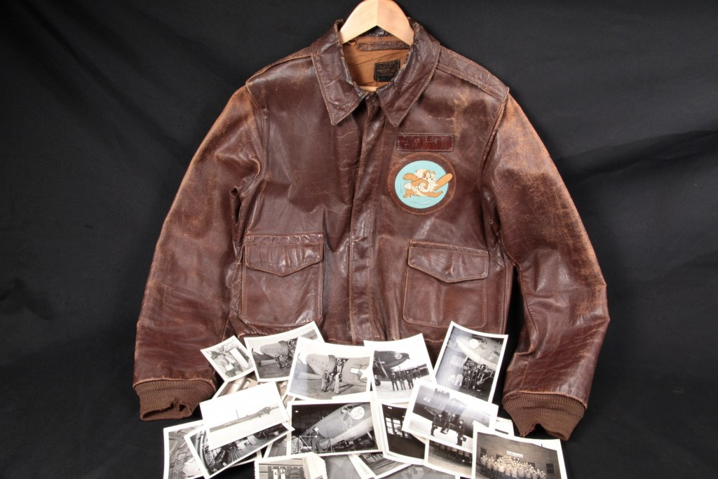 54th Troop Carrier Squadron, James B. Senter A-2 Flight Jacket