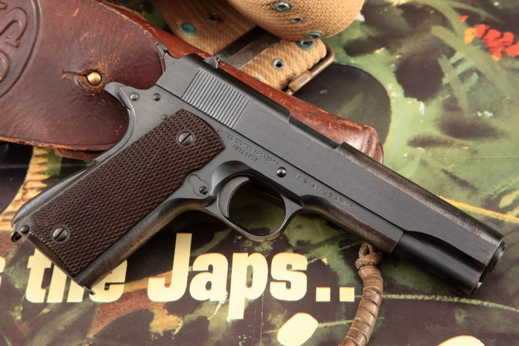 1940 US Army Colt Model 1911A1, Belonging to WWII Pearl Harbor Survivor