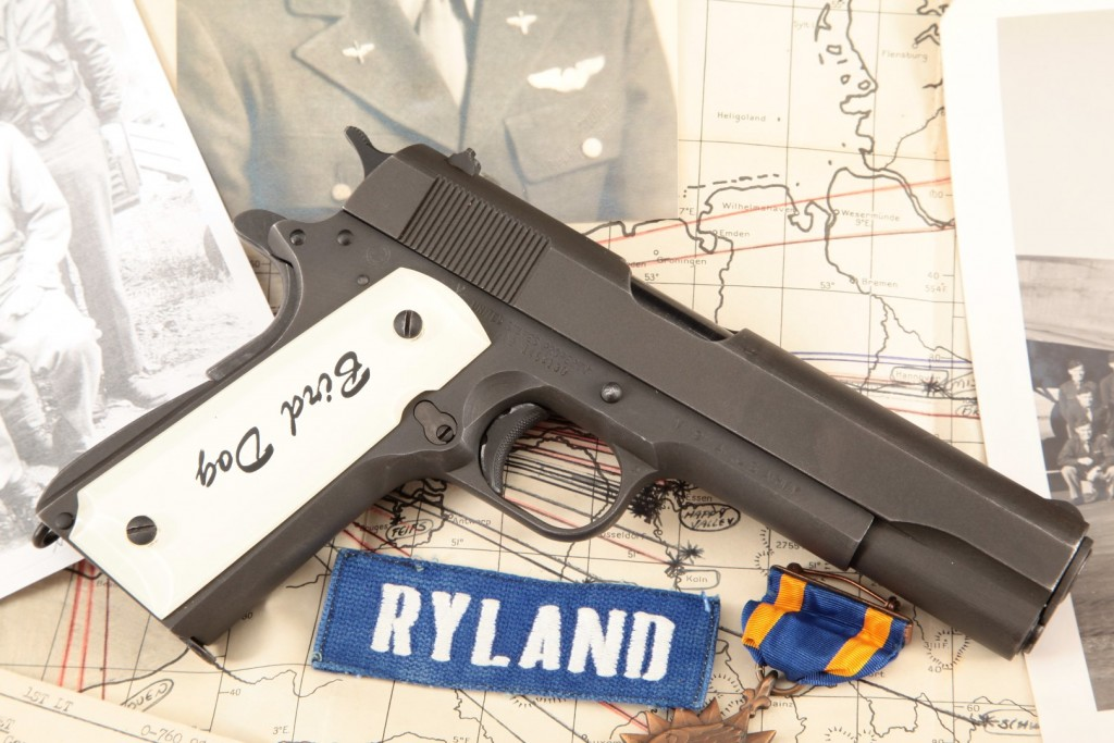 Colonel Byrd Ryland's Bringback Ithaca Model 1911A1, Photo Album & Mission Map