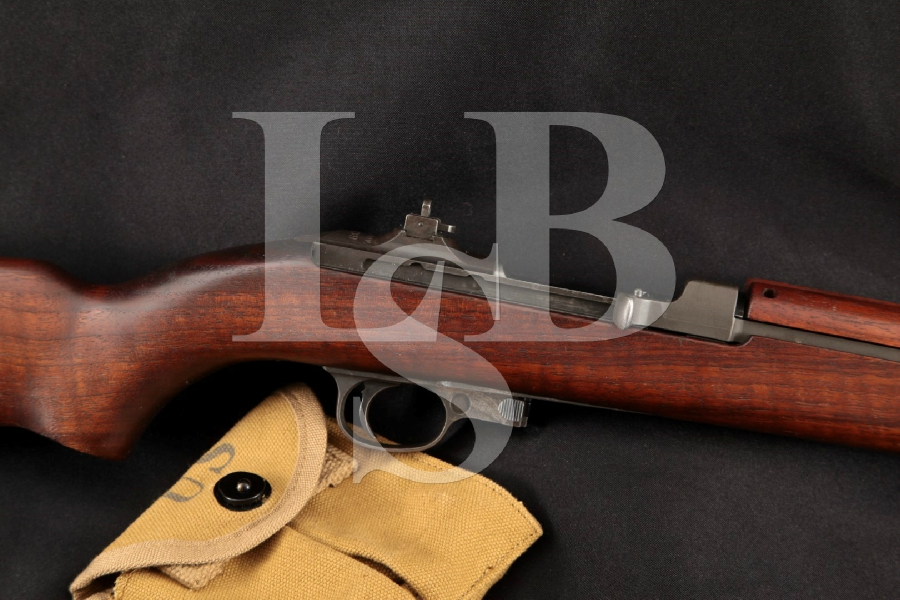 "Inland Division GM M1 Carbine, Matching Parts, Non-Import, Parkerized 18"" WWII Semi Automatic Military Rifle MFD 1942 C&R"