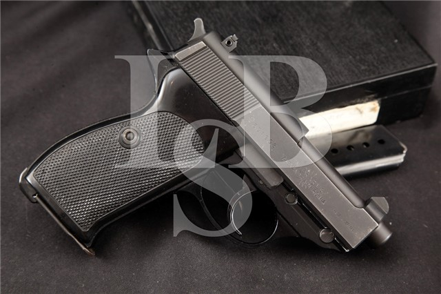 Interarms Walther West Germany P38-K P38K 9mm RARE 2.75″ Semi Automatic Pistol & Box, MFD 1977