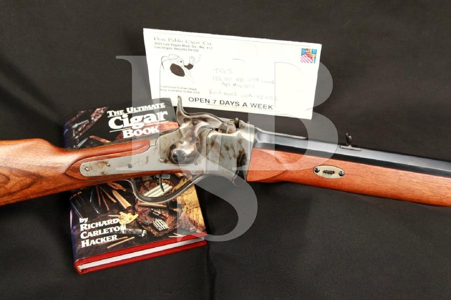 Italian MFD Palmetto Gemmer Sharps / Hawken 32″ 45/70 BP Black Powder Falling Block Rifle MFD 1986