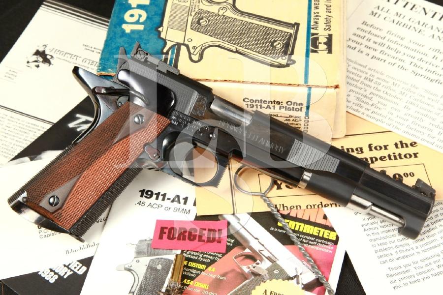 Jim Boland Custom Springfield Armory 1911-A1 1911A1 Semi Automatic .45 ACP Race Gun