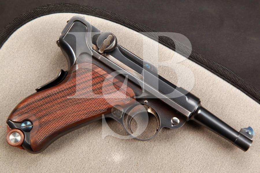John Martz Custom American Eagle Luger Model of 1900 3 INCH Semi-Automatic Pistol, John Martz MFD 1994