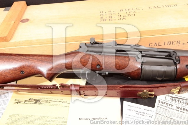 Johnson Automatics 1941 Dutch M1941 .30-06 C&R Miltech Refurbish Military Semi-Auto Rifle & Crate