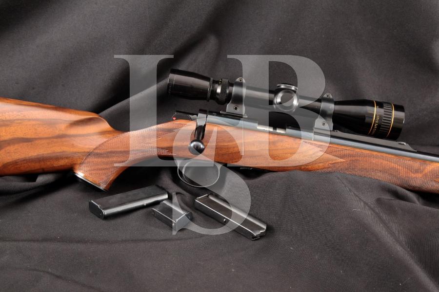 Kimber Model 82 Super America, .22 LR Blue 22.25 INCH Bolt Action Rifle & Leupold Scope, MFD 1983-88