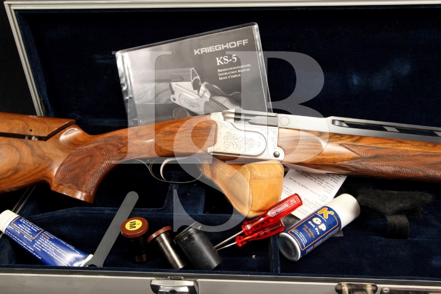 Krieghoff KS-5 KS 5 KS Special 12 Ga. Gauge Single Barrel / Shot Trap Shotgun & Case