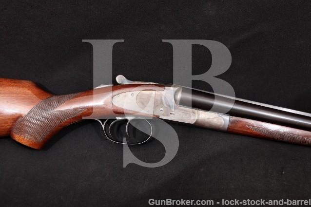 "L.C. LC Smith Field Grade Featherweight 28"" 20 Ga Sidelock SxS Side-By-Side Shotgun, MFD 1920 C&R"