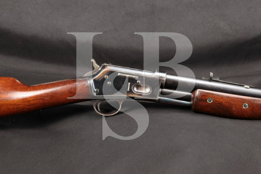 "Late Production Colt Lightning Medium Frame, Blue 26"" Pump Action Rifle, MFD 1900 C&R"