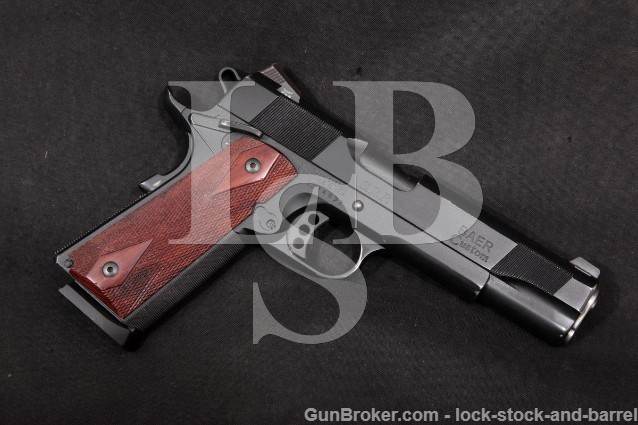 "Les Baer Custom SRP S.R.P. 1911 5"" Single Action Semi-Automatic Pistol Modern .45 ACP"