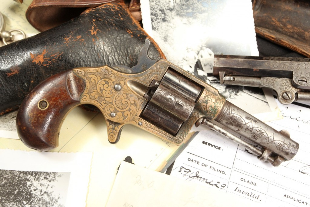 Luther Ashley Factory Engraved Colt House Pistol (Large)