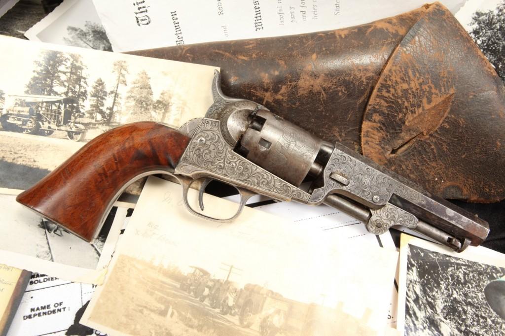 Luther Ashley Factory Engraved Colt Model 1849 (Large)
