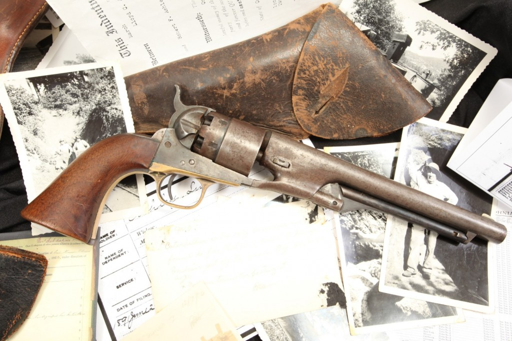Luther Ashley US Colt Model 1860 Army (Large)